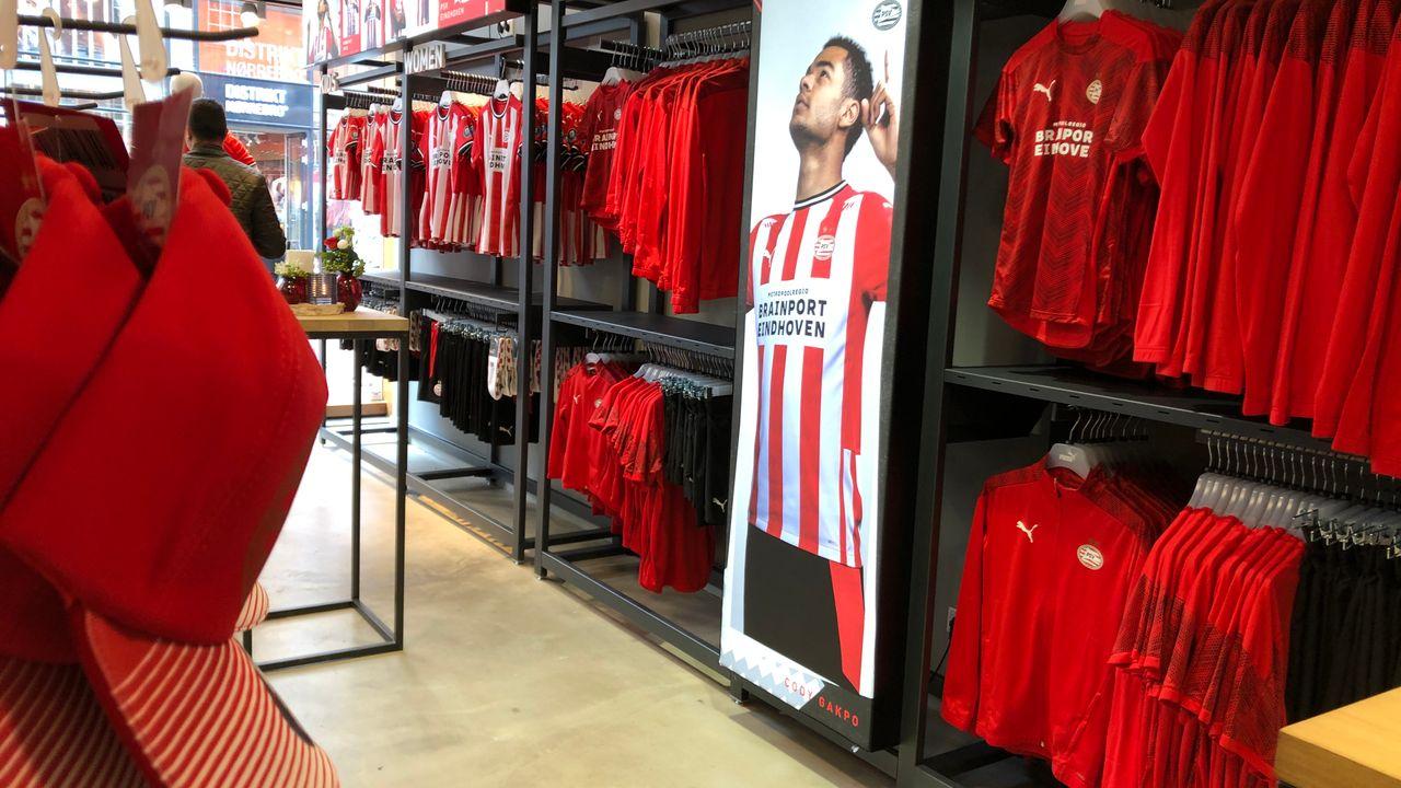 Nieuwe PSV Fanstore in Eindhovense binnenstad