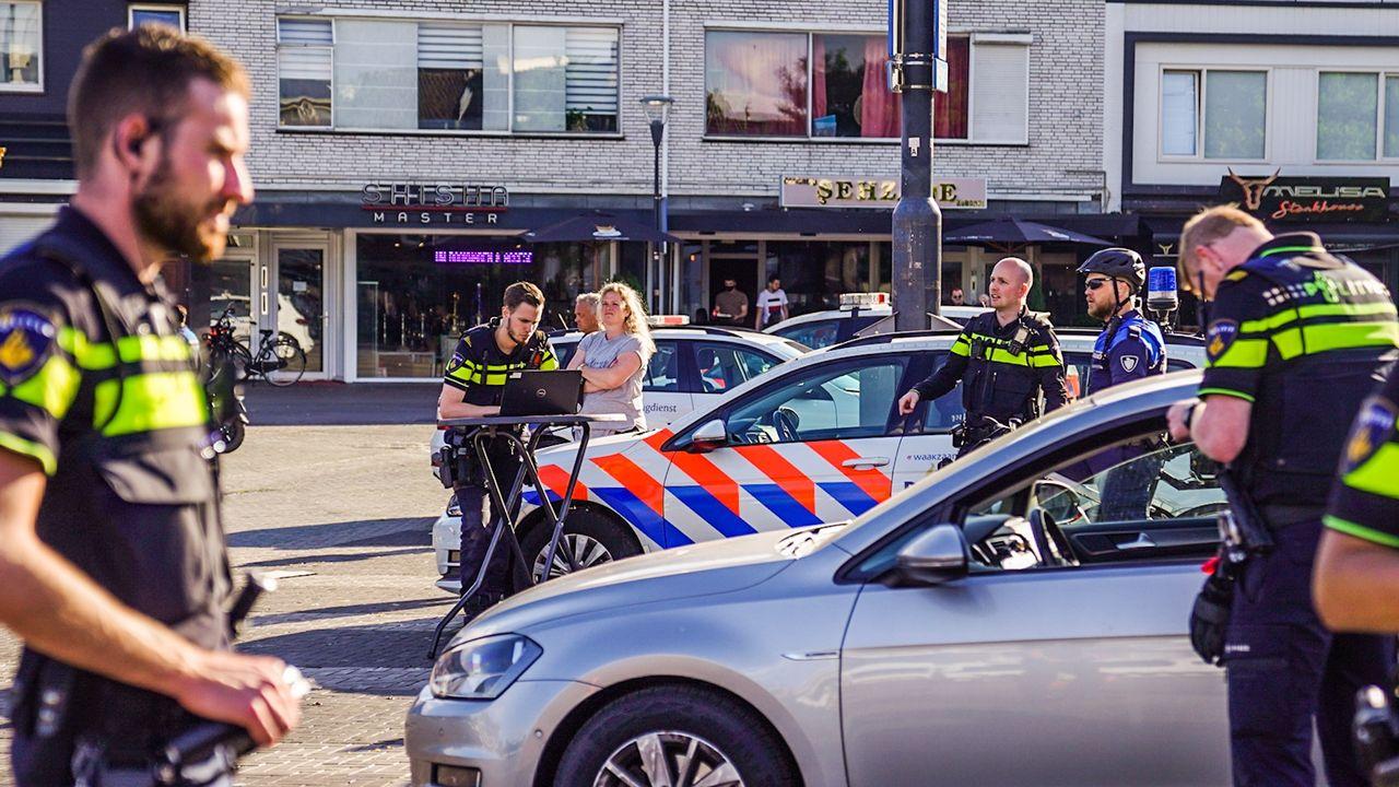 Grote actie van politie en Belastingdienst op Woenselse Markt