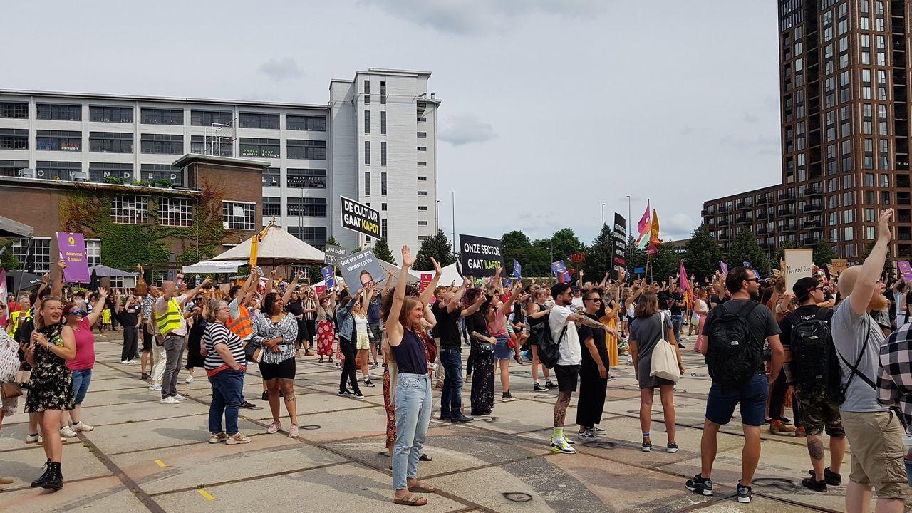 Evenementenbranche gaat weer protesteren in Eindhoven