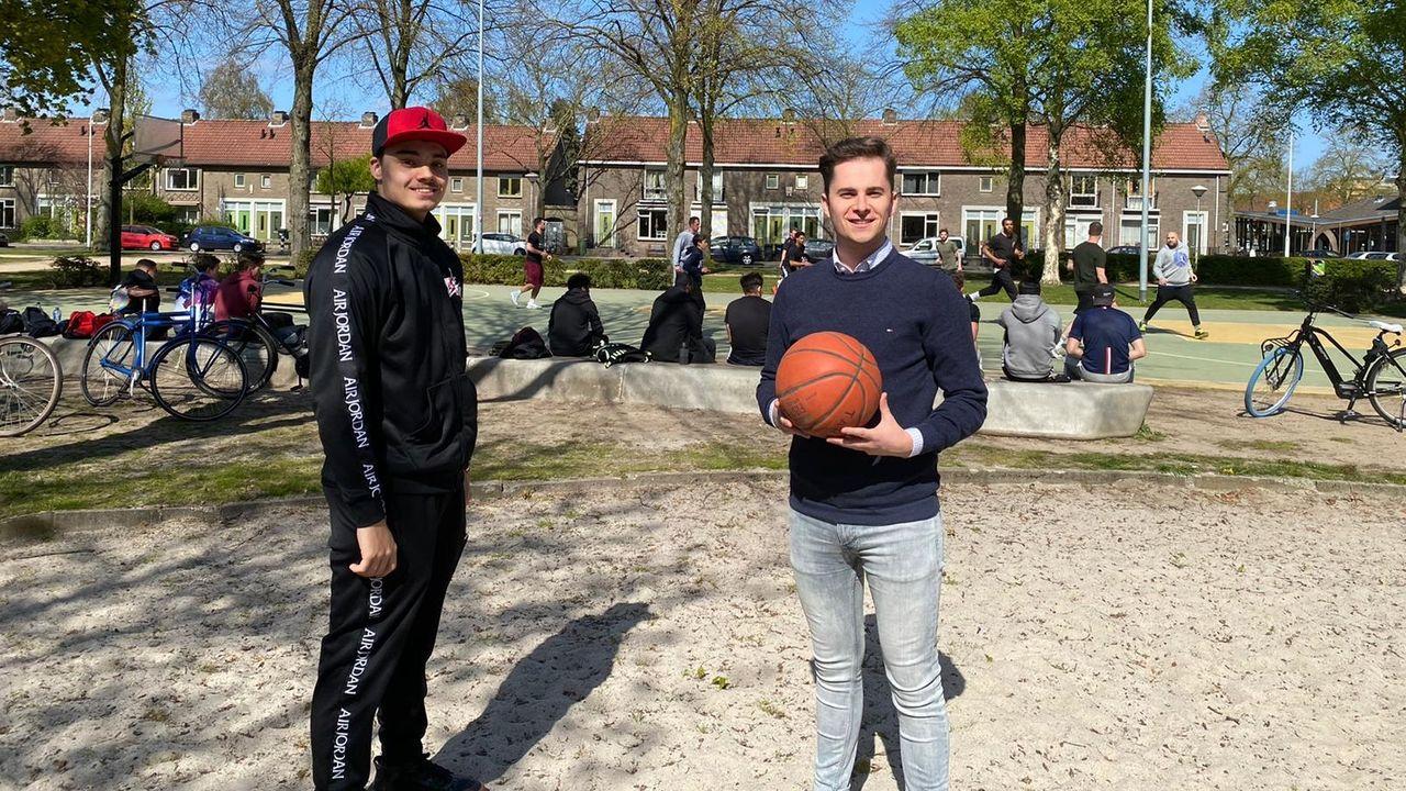 18-jarige start handtekeningenactie voor extra basketbalveld in Woensel-West