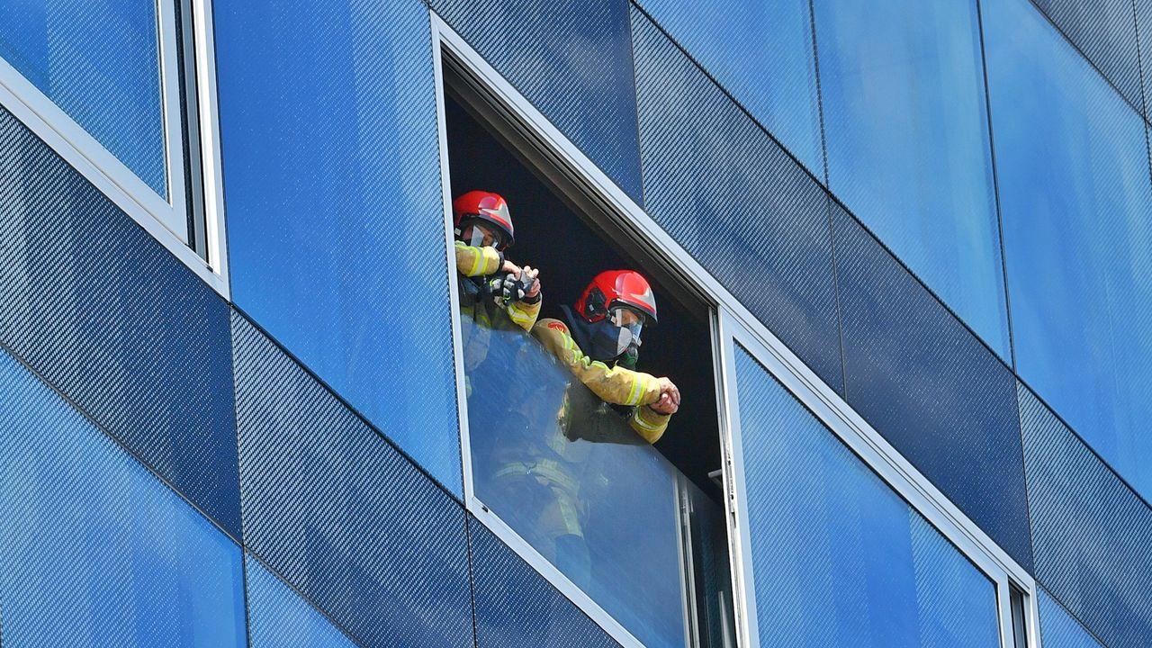 Kantoorbrand op het Flight Forum in Eindhoven