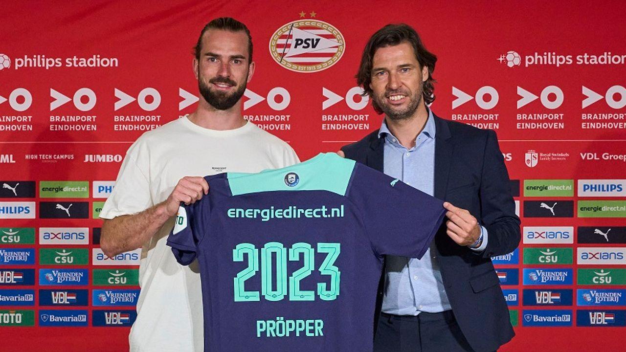 Pröpper de vijfde aanwinst voor PSV