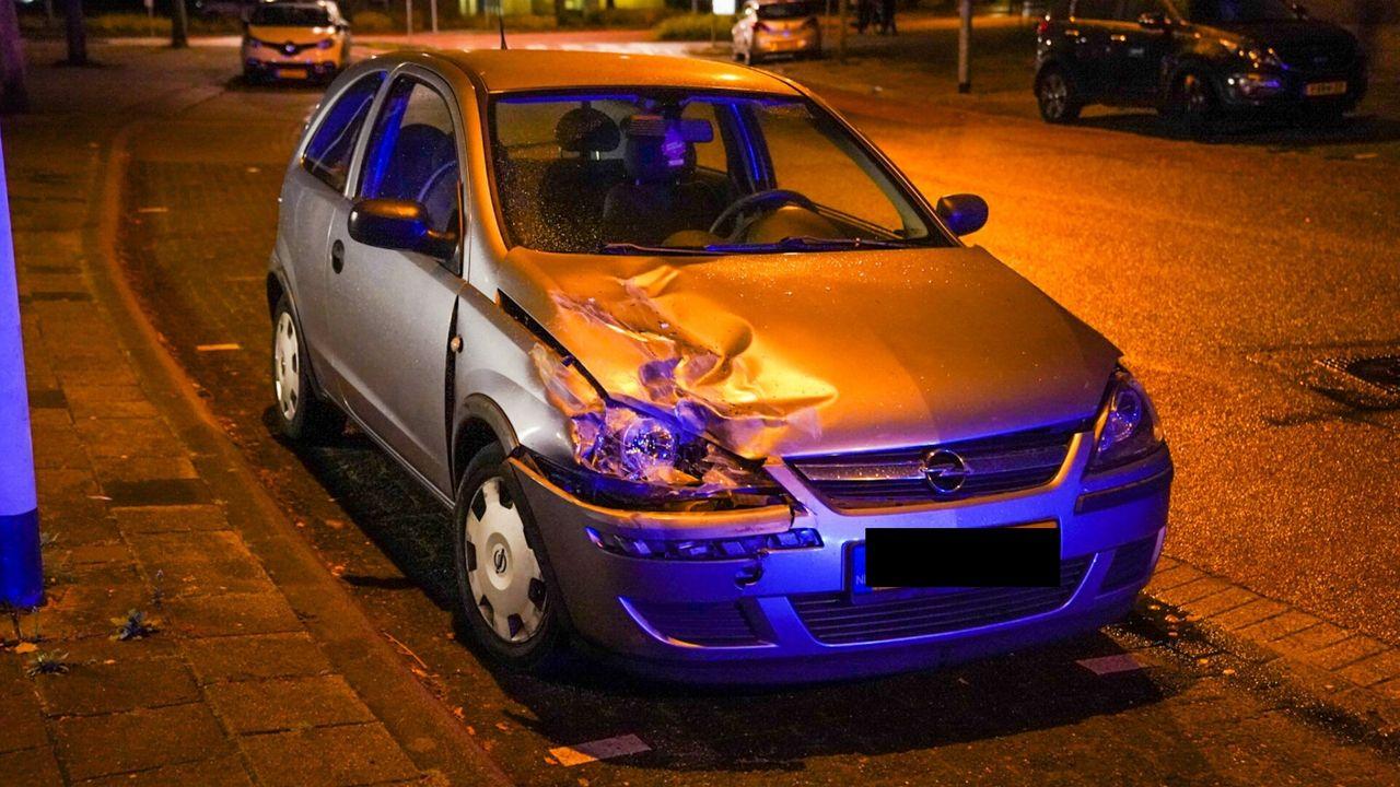 Spekgladde weg zorgt voor ongeluk in Eindhoven