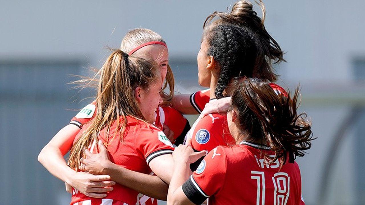 PSV Vrouwen verslaat ADO Den Haag