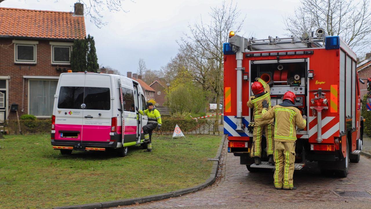 Gasleiding geraakt voor woning in Son en Breugel