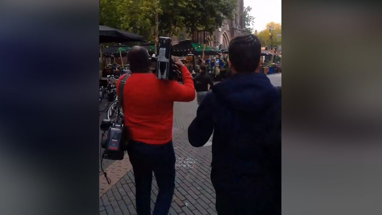 Journalisten lastiggevallen op Stratumseind tijdens maken reportage over mondkapjesplicht