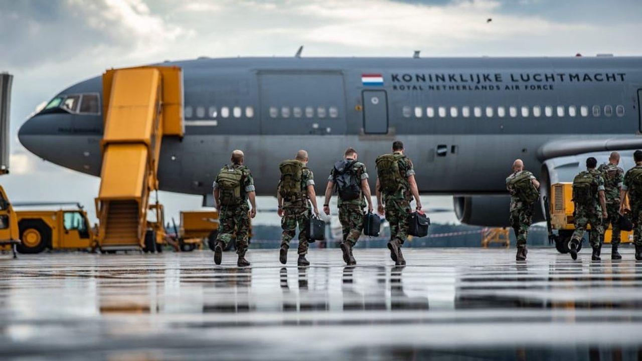 76 mariniers vertrokken voor hulp Bahama's