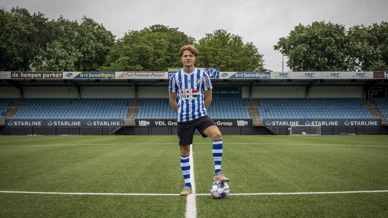 FC Eindhoven lijft Dahlhaus definitief in