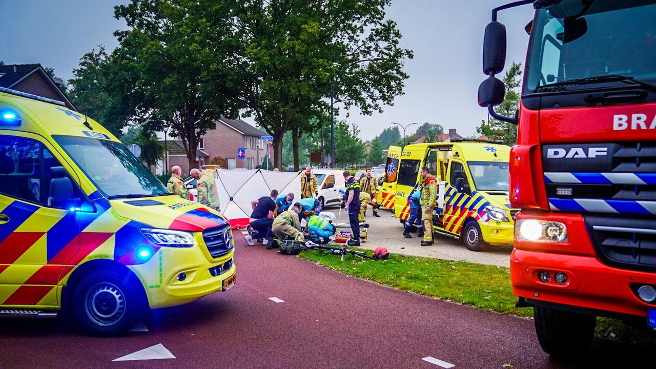 Wielrenster zwaargewond bij val in Nuenen