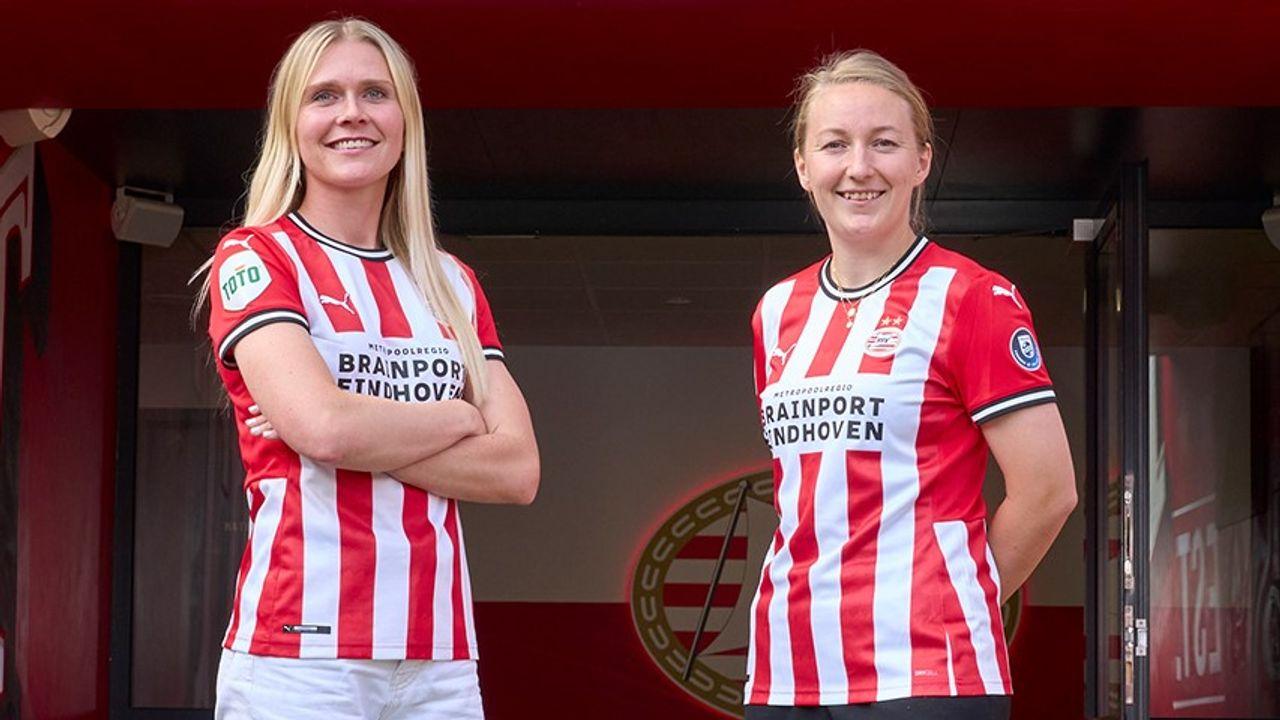 PSV Vrouwen schrijft geschiedenis met aantrekken Deense speelsters