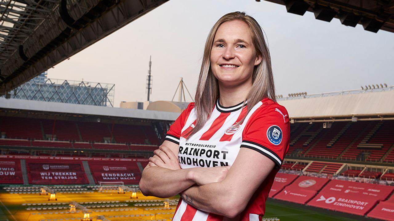 PSV Vrouwen wint met ruime cijfers van Heerenveen