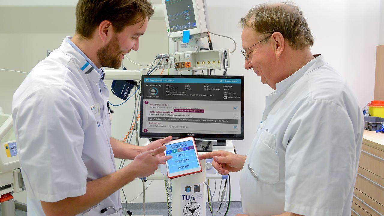 'TraceBook' helpt zorgpersoneel betere beslissingen te maken
