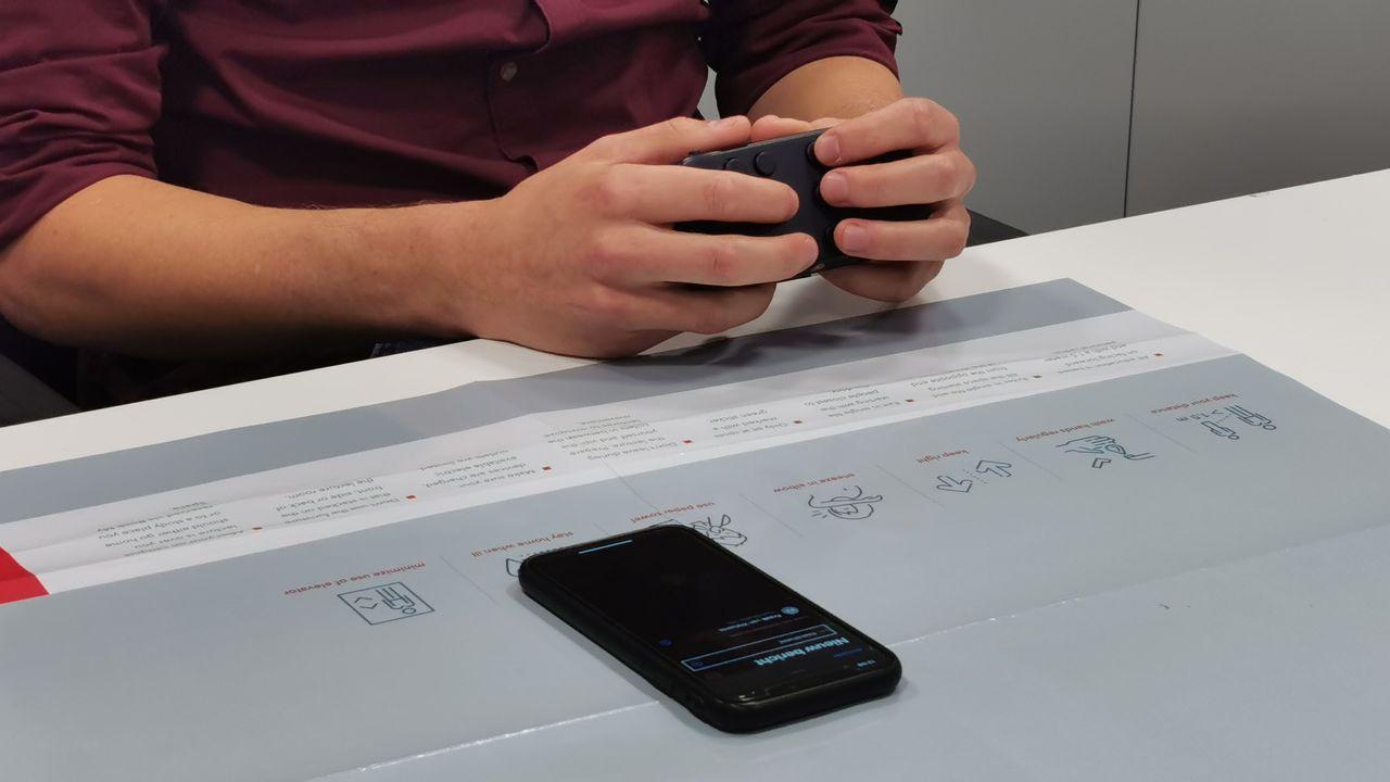 Smartphone makkelijker in gebruik met Eindhovense Hable