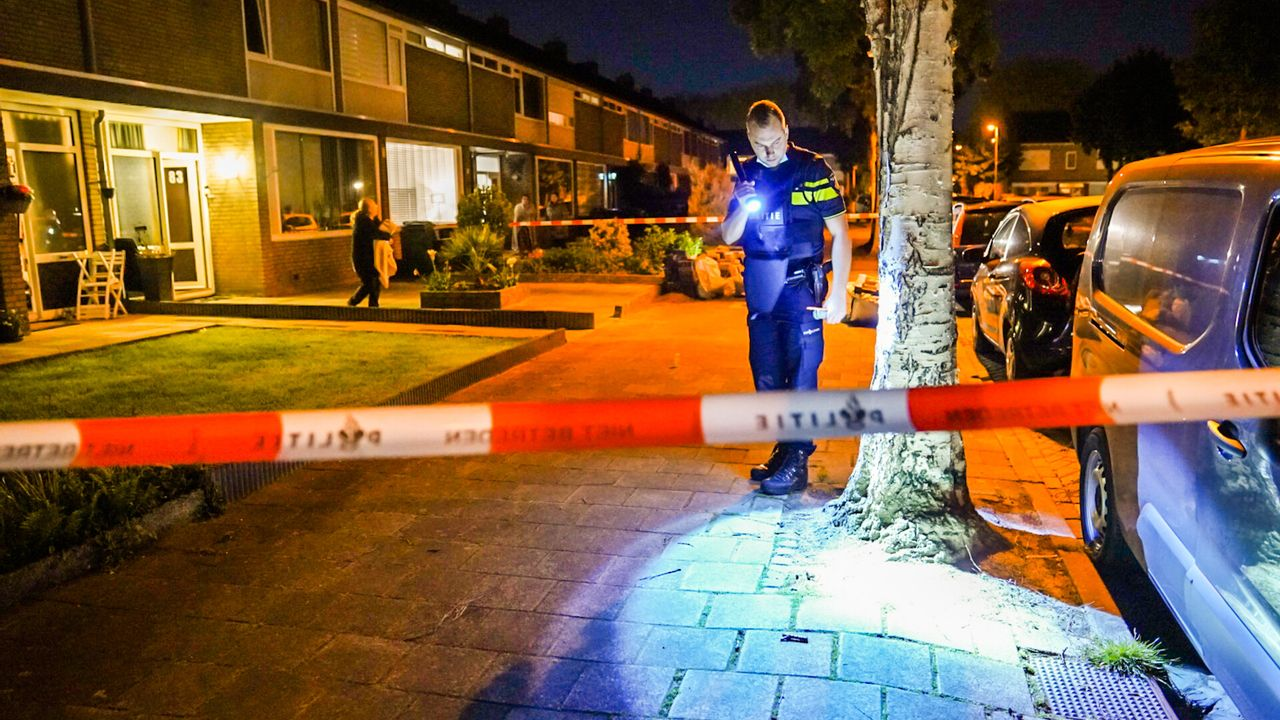 Huis beschoten in Jan Heynslaan