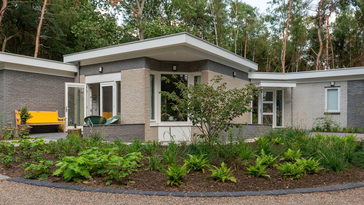 Het 'Bijna Thuis Huis' geeft liefde aan mensen die bijna doodgaan