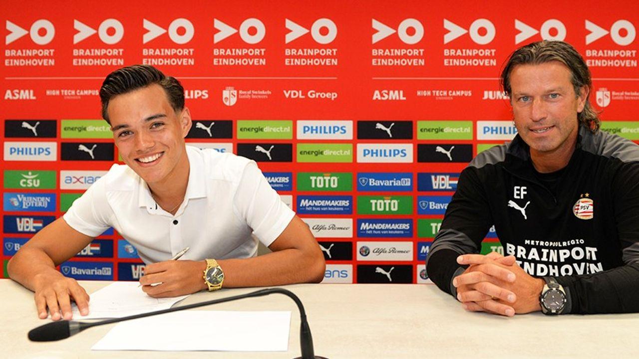 17-jarig PSV-talent zet handtekening onder eerste profcontract