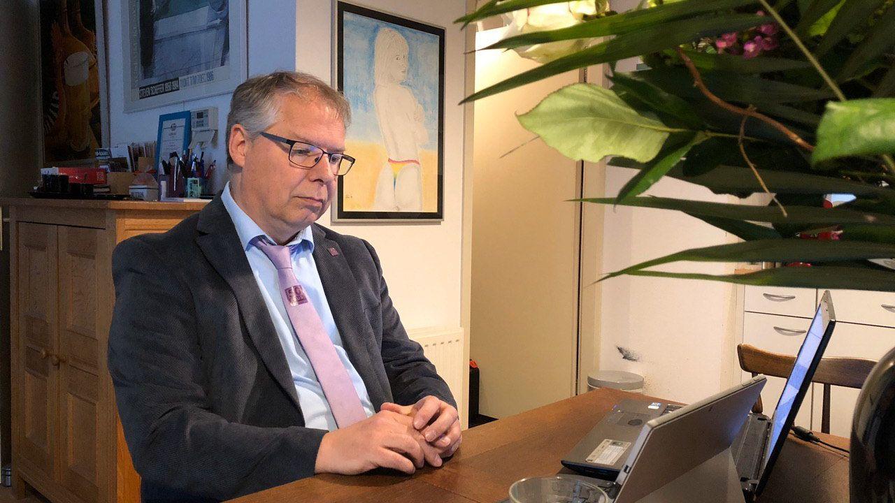 Afscheid van overleden Eindhovens raadslid Theo Hoppenbrouwers in DomusDela