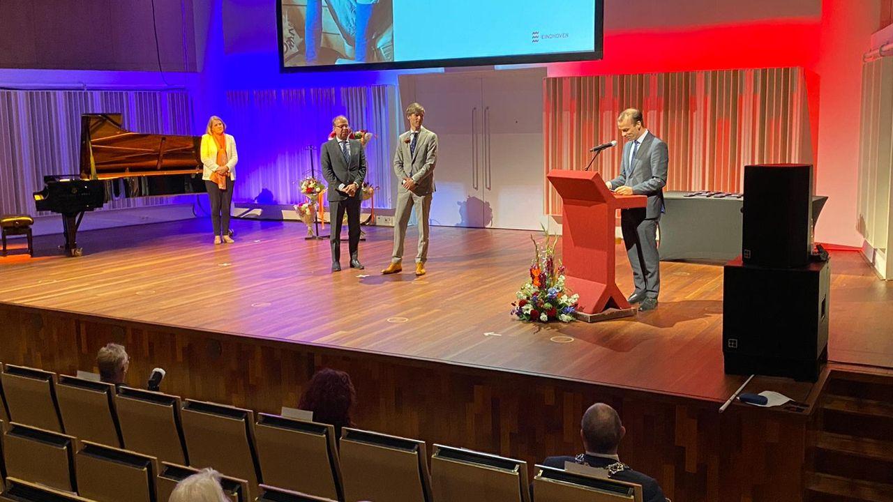 Eindhovense gedecoreerden alsnog geëerd met ceremonie