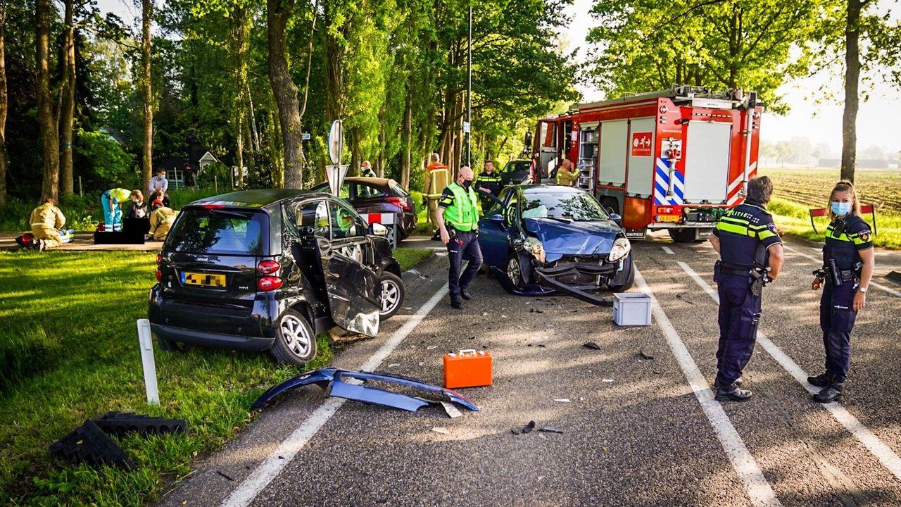 Automobilist onder invloed betrokken bij ernstig ongeval in Nuenen