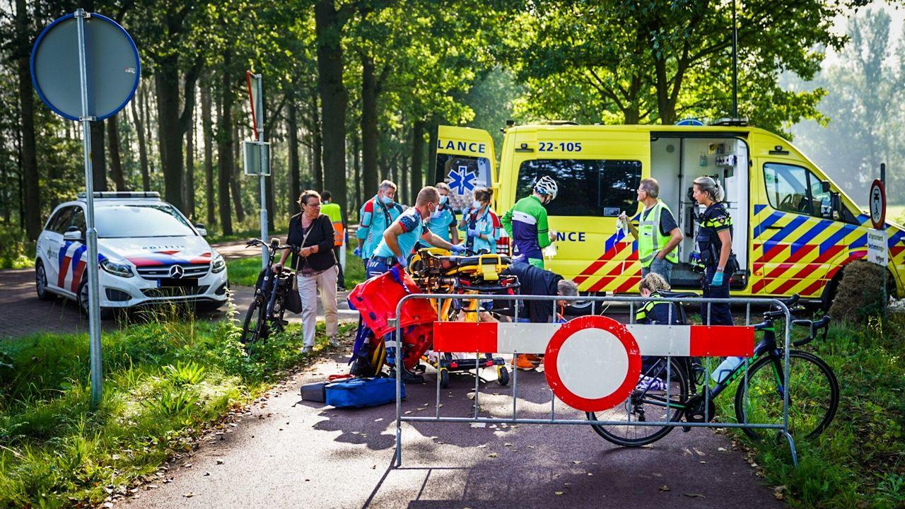 Twee gewonden bij wielerronde voor studenten in Nuenen