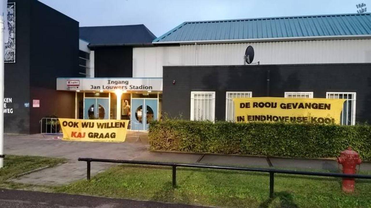 FC Eindhoven kan wel lachen om actie NAC-supporters