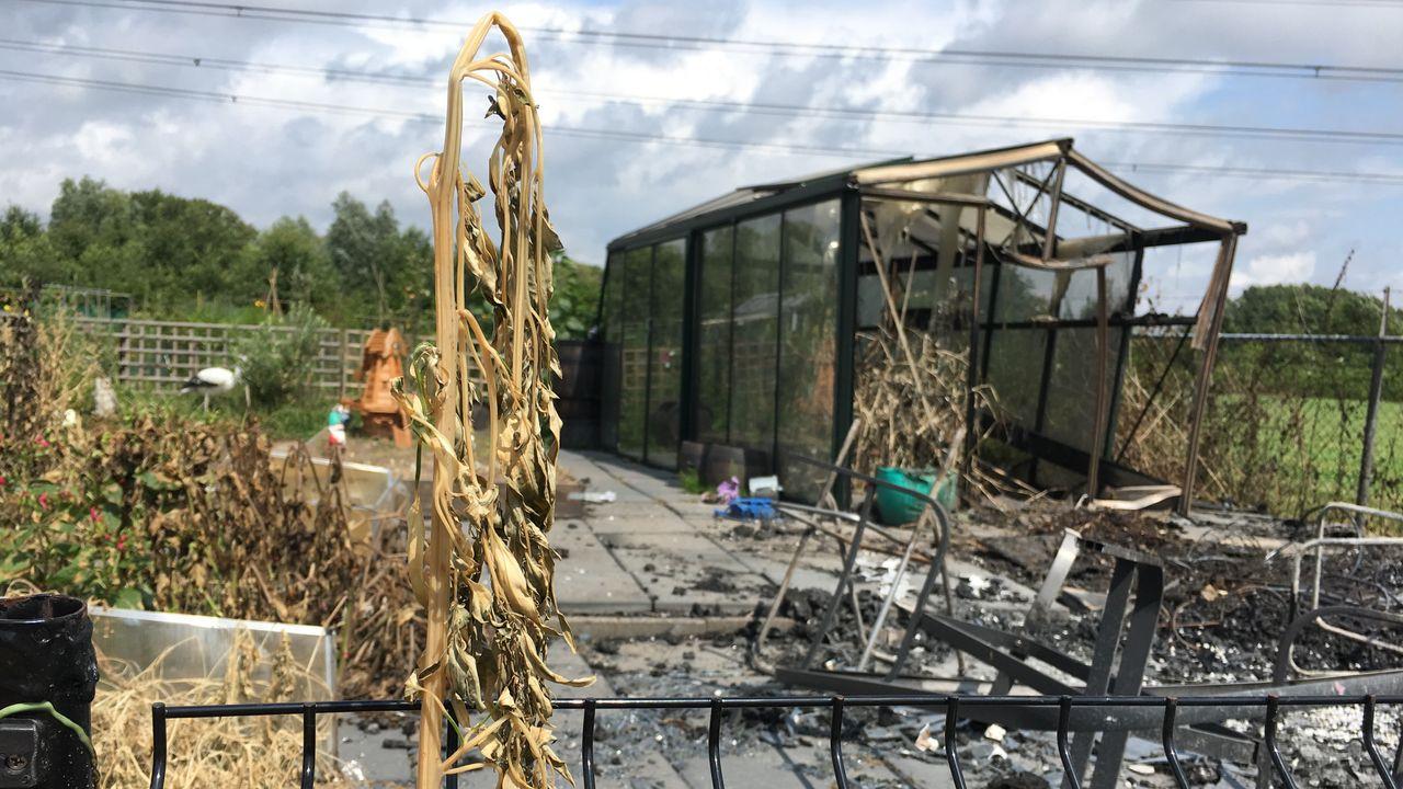 Voorzitter Tongelrese volkstuin over brand: 'Dit is triest'