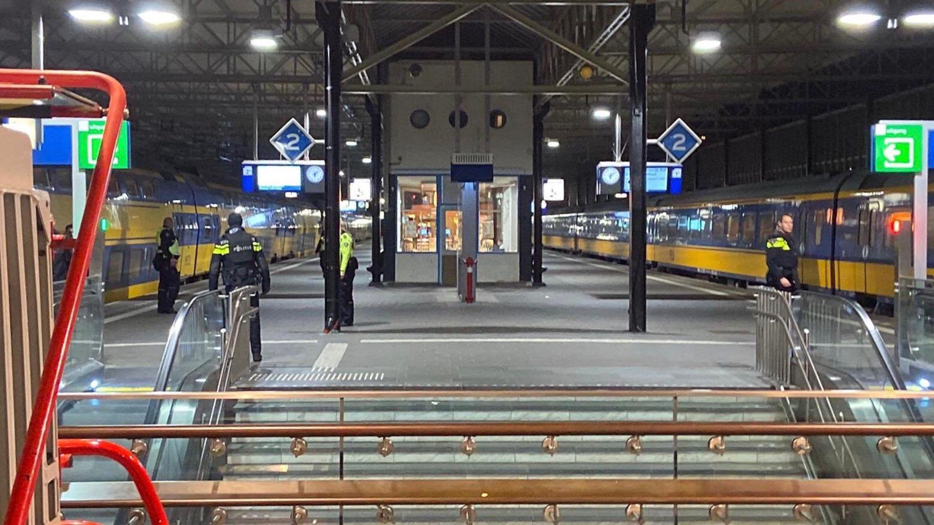 Station Ehv ontruimd