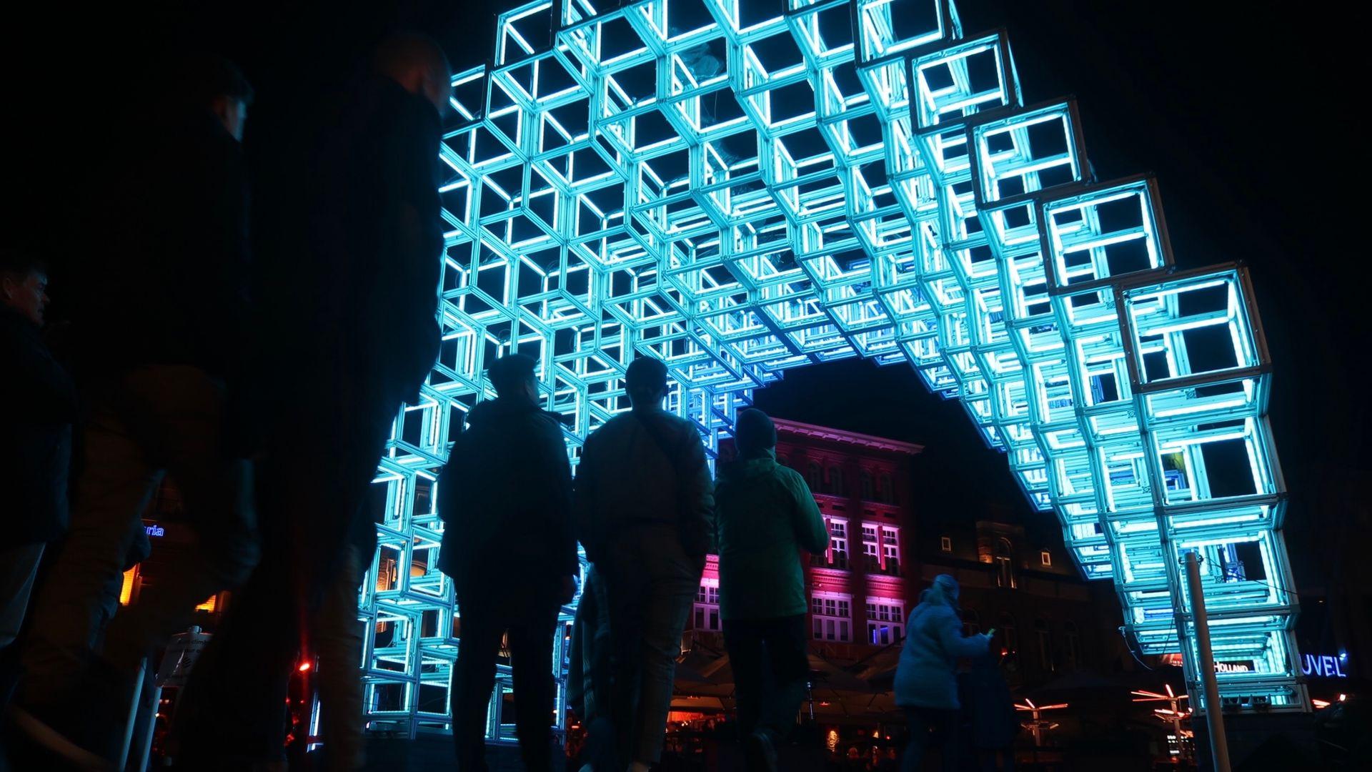 Glow_2019 Tunneltje Markt