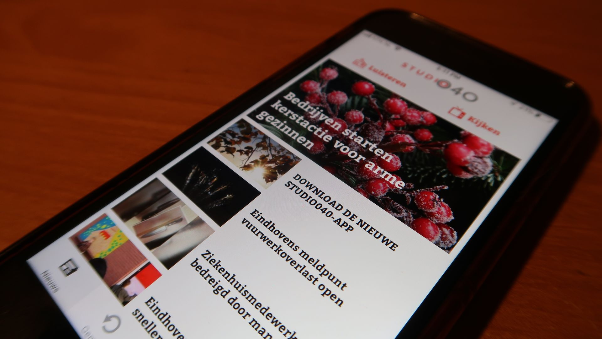 Studio040 App _Nieuws