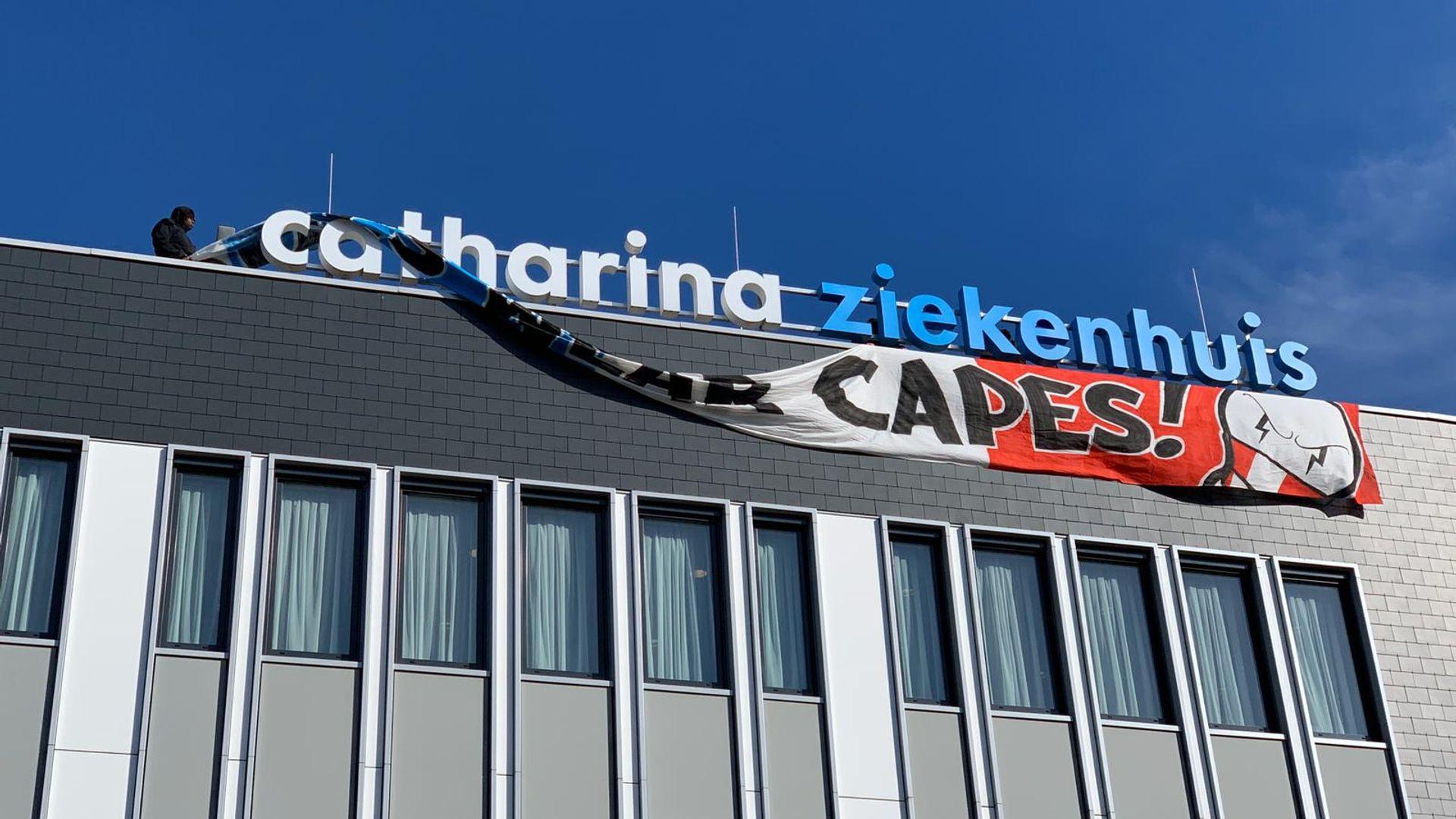 Spandoek PSV Catharina ziekenhuis