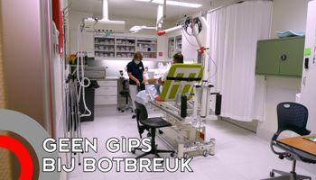 Catharina ziekenhuis geeft geen gips meer bij een botbreuk
