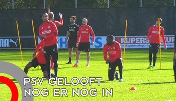PSV gelooft er nog in tegen Grieken