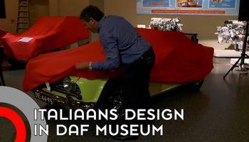 DAF-Museum eert Italiaanse ontwerper