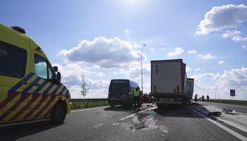 Ernstig ongeval op A67