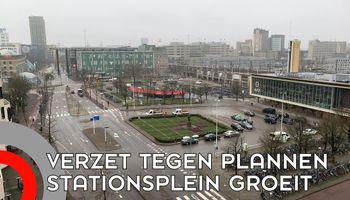 Verzet tegen ambitieuze plannen Stationsgebied
