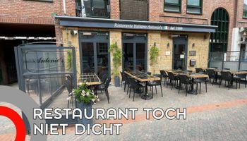 Gemeente op vingers getikt: restaurants toch open