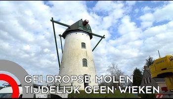 Molen 't Nupke in Geldrop gekortwiekt