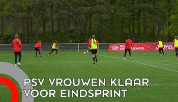 Vrouwen PSV in race voor 'de dubbel'