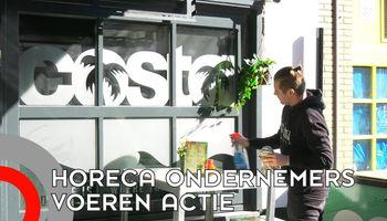 Horeca protesteert - maar gaat niet ècht open