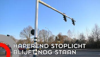 Haperende verkeerslichten worden niet vervangen