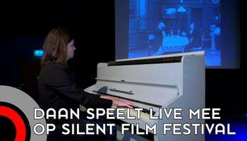 Eindelijk weer voorstelling van Silent Film Festival
