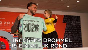 Transfer Drommel naar PSV eindelijk rond