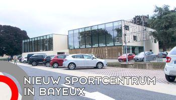Sporthal 'Eindhoven' feestelijk geopend in Bayeux