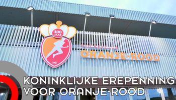 Koninklijke Erepenning voor hockeyclub Oranje Rood