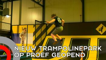Nieuw trampolinepark mag een dag open als 'test-evenement'
